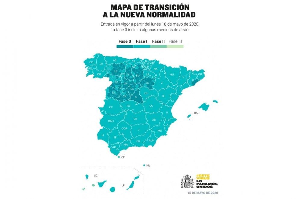 Orden SND/414/2020, de 16 de mayo, aplicación de la fase 2 del Plan para la transición hacia una nueva normalidad.